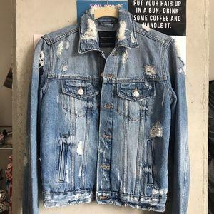 0705cb205f7 Zara Jackets & Coats | Trafaluc Denim Jacket | Poshmark